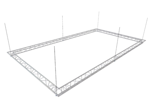 Aerial Lighting Truss Hire 17
