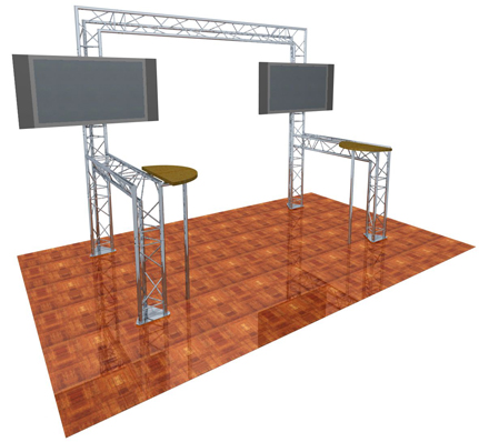 Exhibition Gantry Hire 12