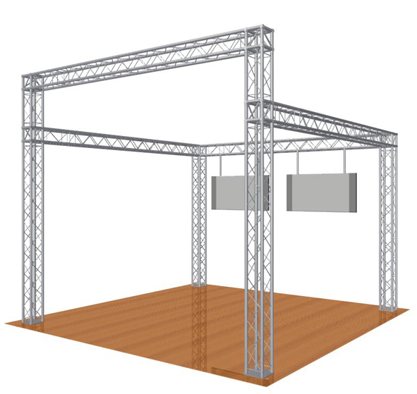 High Fronted Gantry - System 35 Quad