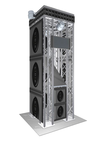 Quad Truss Tower - System 35